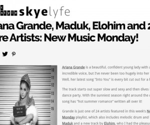 "Skyelife Features Salt Ashes' ""Save It"" on New Music Monday Playlist"