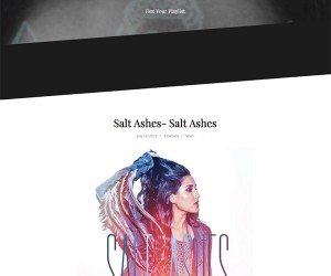 Salt Ashes' Debut Album Featured on Glitch Witch