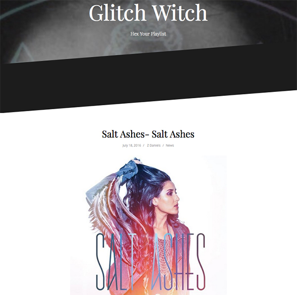 glitch witch salt ashes