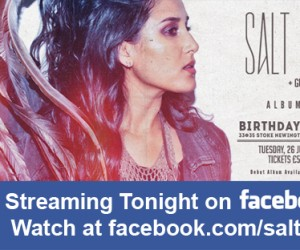 Stream Salt Ashes' Album Launch Party Tonight on Facebook Live