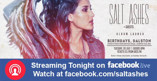 Salt Ashes Live Streaming on Facebook