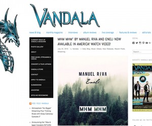Manuel Riva & Eneli's Hit Single Featured on Vandala Magazine