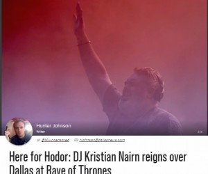 Guide Live Captures All The Fun on Kristian Nairn's 'Rave of Thrones'