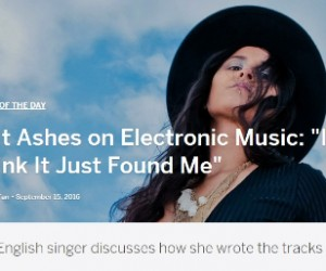 Myspace Names Salt Ashes Their 'Artist of The Day'