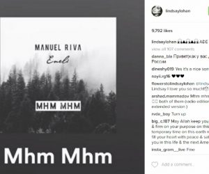 DJ Manuel Riva & Eneli's Break Out Single Recieves Shout Out From Lindsay Lohan