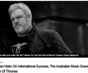 DJ Kristian Nairn Featured on Music Feeds