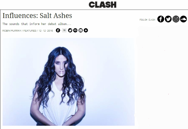 clash music - salt ashes