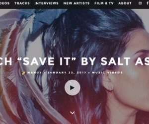 Salt Ashes' New Music Video Featured on EQ Music