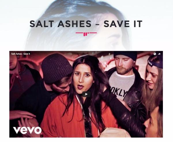 born music online - salt ashes