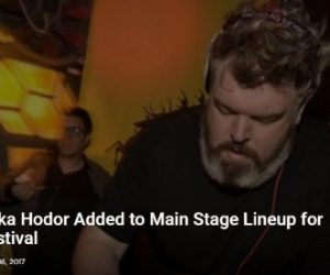 EDM Tunes Shares Middlelands' Main Stage Lineup Featuring Kristian Nairn