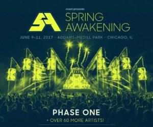 Spring Awakening 2017 Phase One Lineup Announced
