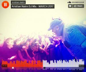 Listen to Kristian Nairn's March 2017 DJ Mix on SoundCloud & Mixcloud
