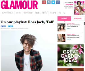 "GLAMOUR South Africa Features Ross Jack's ""Fall"""