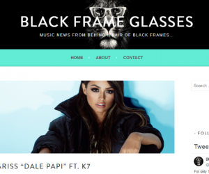 "Black Frame Glasses Features Lariss' ""Dale Papi (feat. K7)"""