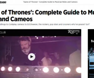 Rolling Stone Features Kristian Nairn in 'Game of Thrones': Complete Guide to Musician Roles and Cameos