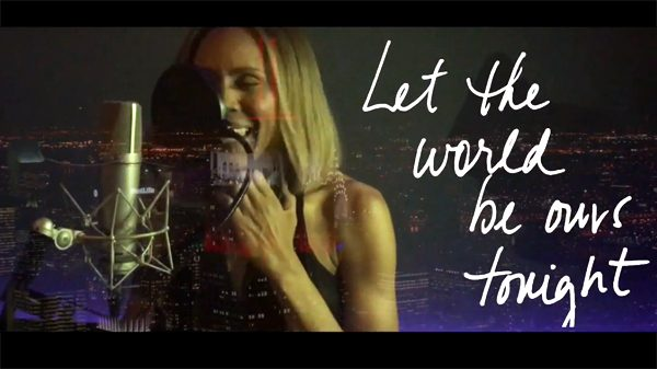 Deborah Cox - Let the World Be Ours Tonight (Lyric Video)
