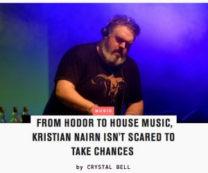 MTV News Catches Up With DJ Kristian Nairn