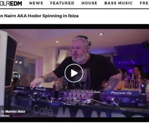 Kristian Nairn's Ibiza Set Featured on YourEDM