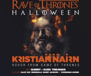 Get Tickets for Kristian Nairn's Rave of Thrones Halloween