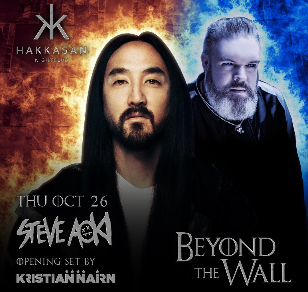 Steve Aoki - Beyond the Wall with Kristian Nairn