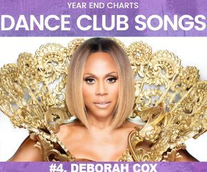 "Deborah Cox's ""Let the World Be Ours Tonight"" at #4 on Billboard's 2017 Dance Club Chart"
