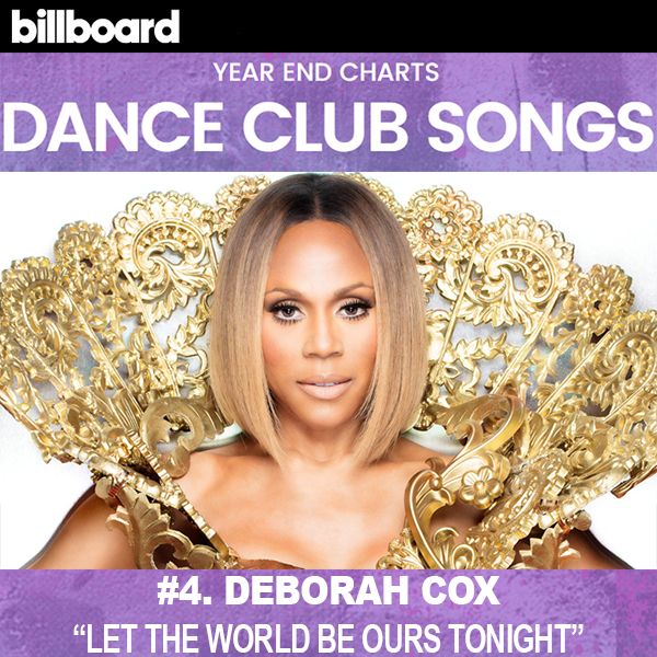 Deborah Cox - Billboard 2017 Dance Club Chart
