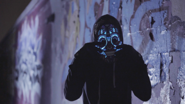 sound reactive led masks edm outline montreal