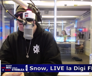 DigiFM Radio Interviews Snow Live on the Air