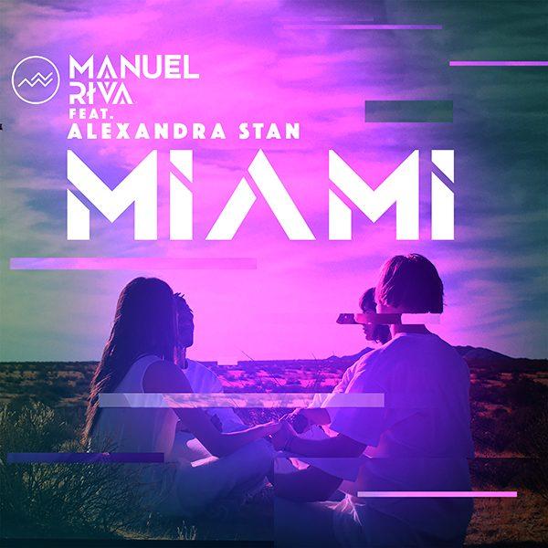 Manuel Riva - Miami (feat. Alexandra Stan) [Remixes] Cover Art