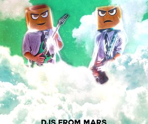 "Official Remix Package for DJs From Mars' New Single ""Somewhere Above the Clouds"" Out Now"