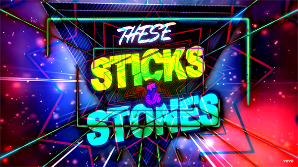 Metro & Nelly Furtado - Sticks & Stones (Lyric Video)