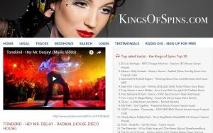 Kings of Spins features Tonekind