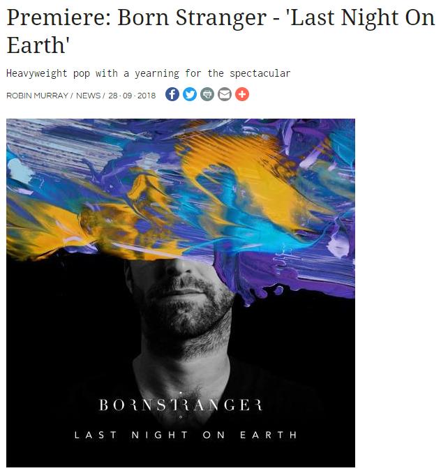 Clash Magazine Premieres Born Stranger's New Track