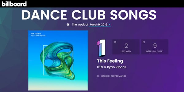 IYES & Ryan Riback - Billboard Dance Club Chart #1
