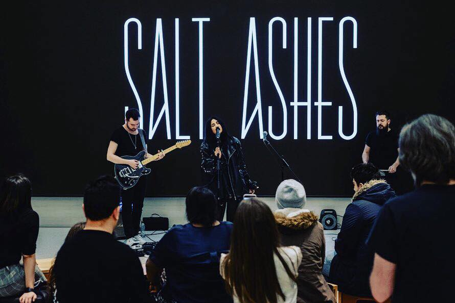 Salt Ashes Live at Apple - Photo by Joe Lindsay
