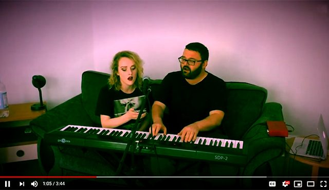 Sia - Helium cover by Born Stranger & Amy Kavanagh
