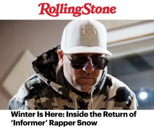 "Rolling Stone Speaks with Snow on the Return of ""Informer"", Daddy Yankee & New Music"