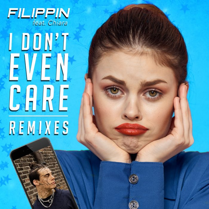 Filippin - I Don't Even Care (feat. Chiara) Remixes - Cover Art