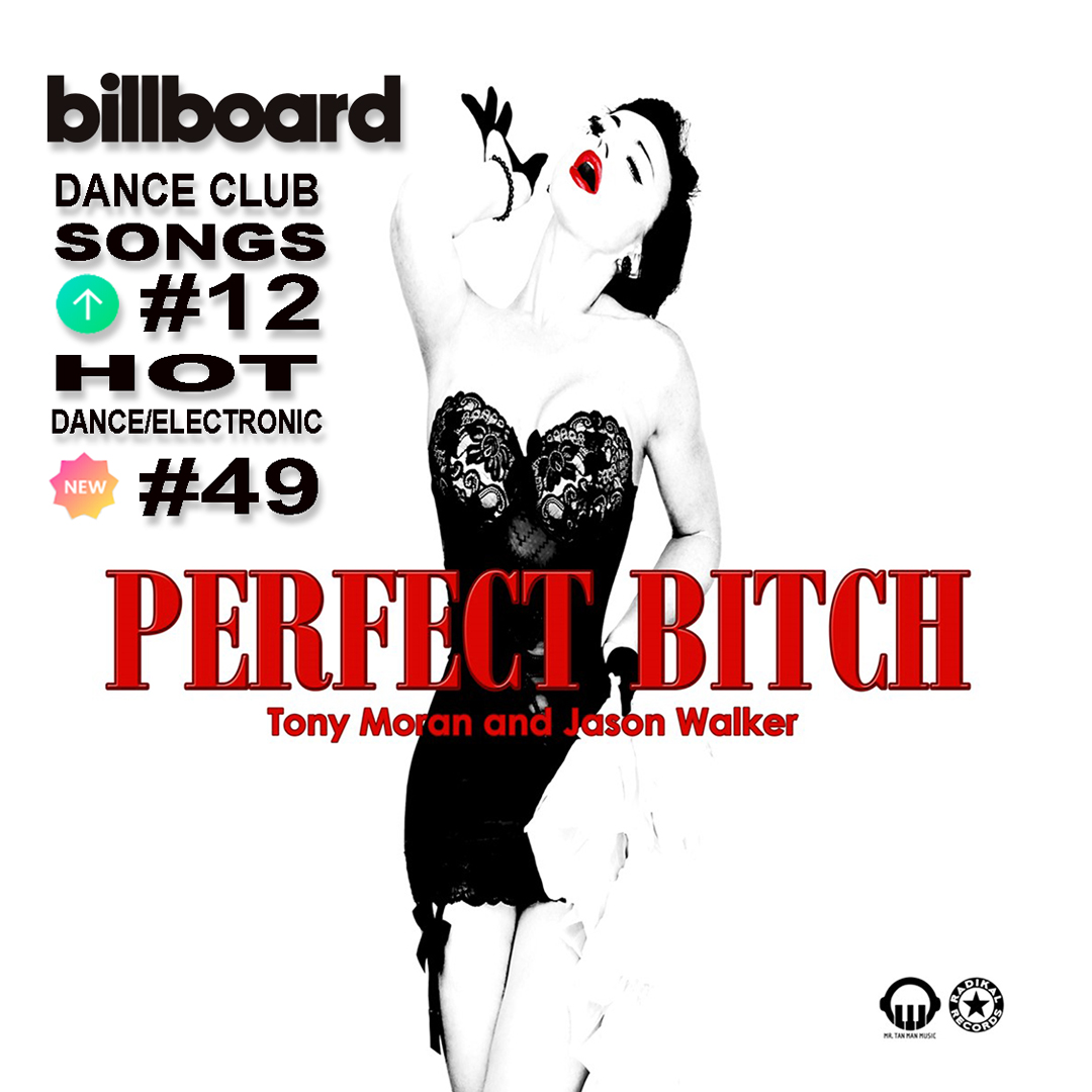 Tony Moran & Jason Walker Climb the Billboard Dance Charts