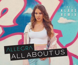 Allegra Releases 'All About Us (Radikal Mixes)' as the Breakout Single Climbs the Billboard Dance Charts