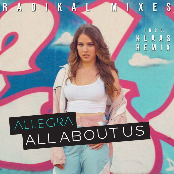 Allegra - All About Us (Radikal Mixes) - Cover Art