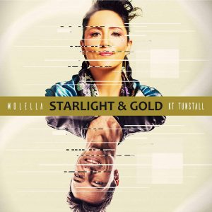 Molella & KT Tunstall - Starlight & Gold - Cover Art