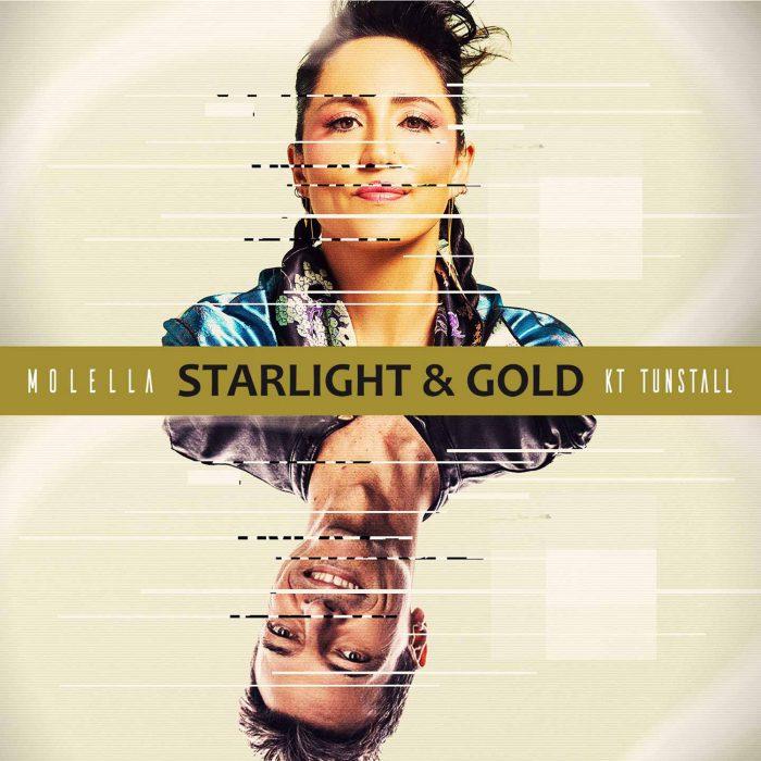 Molella & KT Tunstall - Starlight & Gold - Cover Art