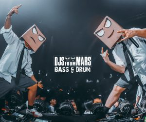 "Martian Duo, DJs From Mars Return to Earth to Deliver Their New Single ""Bass & Drum"""