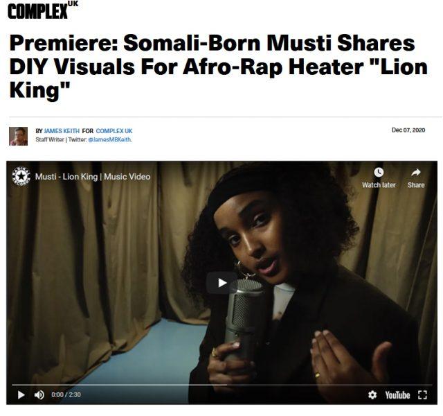Musti - Lion King (Music Video)