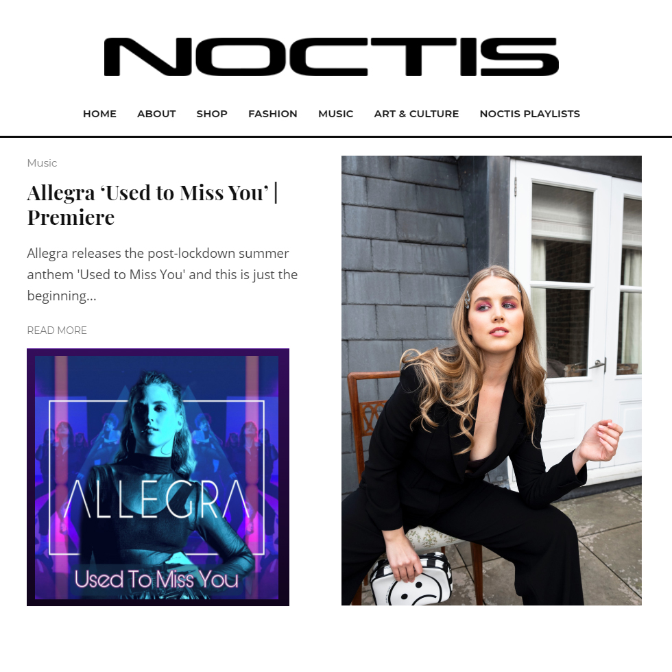 Allegra - Used to Miss You - Noctis Premiere