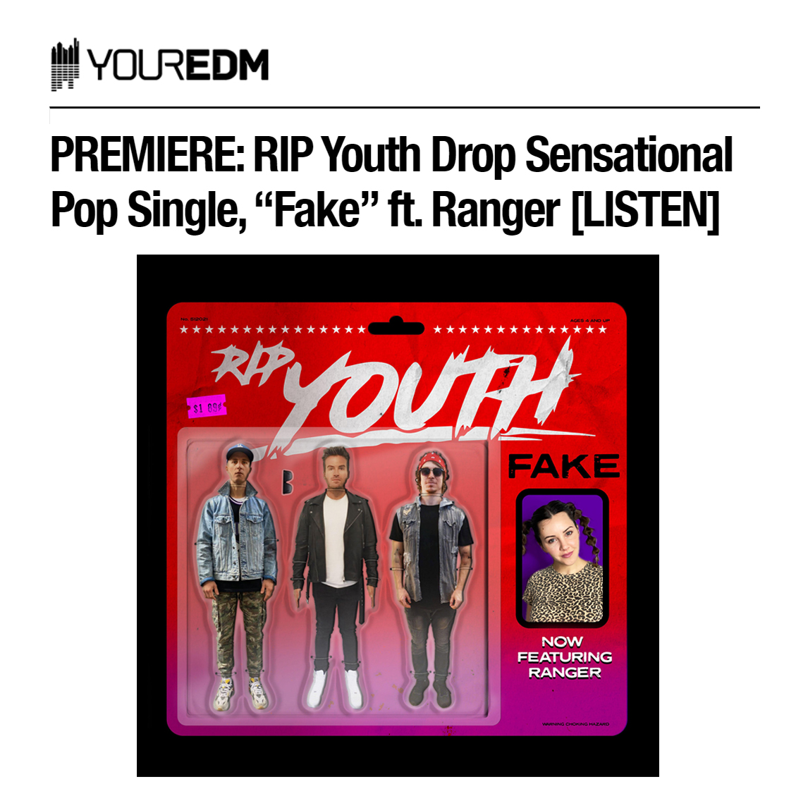 RIP Youth - Fake - Your EDM Premiere