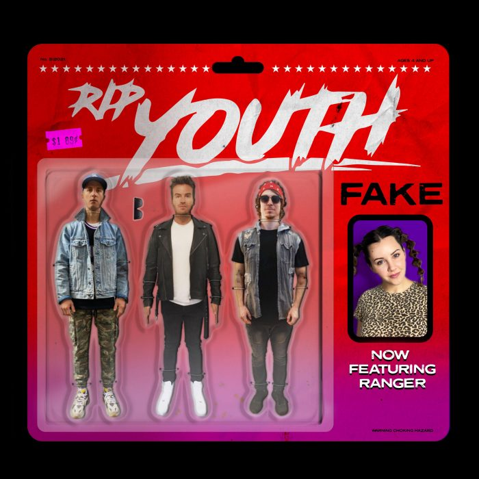 RIP Youth - Fake (feat. Ranger) - Cover Art