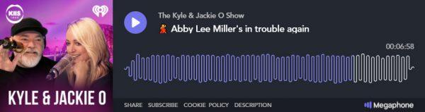 Abby Lee Miller - KIIS Interview - Player