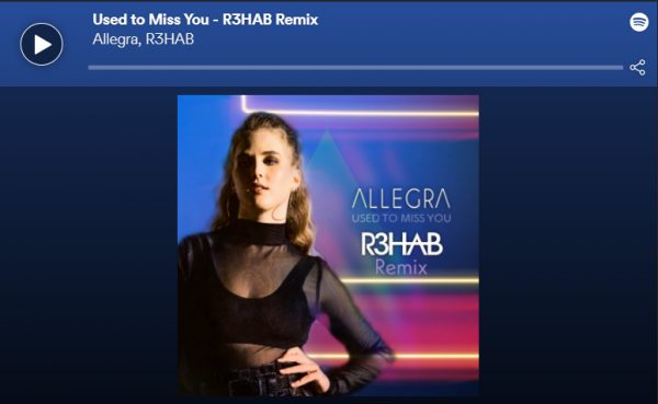 Allegra - Used to Miss You (R3HAB Remix) - Notion Premiere Player